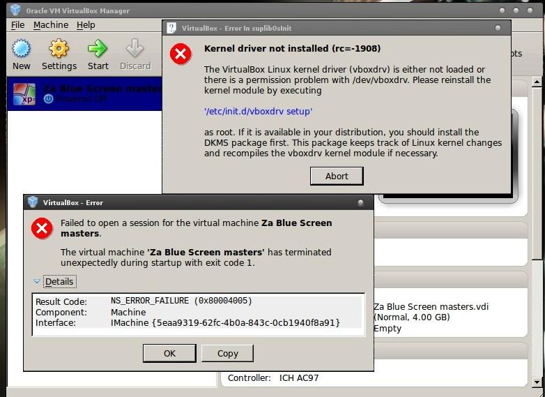 recompiling virtualbox kernel modules 1