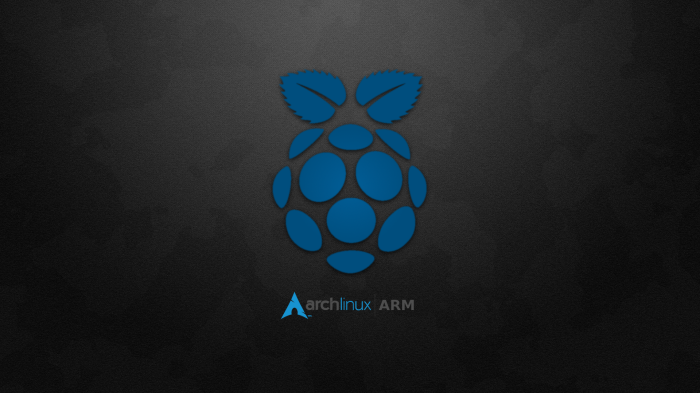 ArchLinux Arm on Rasbperry Pi with Enlightenment windows manager a.k.a E17