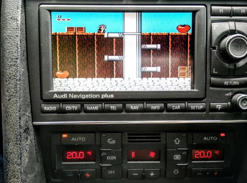 Audi A4/A6 B6/B7/C5 – RNS-E controlling Raspberry Pi 3 with Kodi